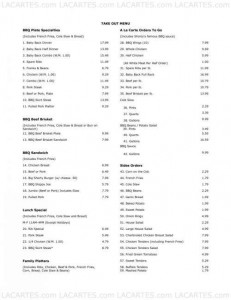 Menus & Prices, Shorty's Barbeque Restaurant and Catering - South Miami, FL, Miami