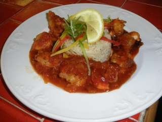 Shrimp Jambalaya, Chez Denis Restaurant, Norwich