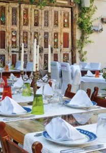 Restaurant, Avli Lounge Apartments, Rethymnon