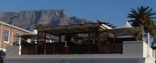 the deck with mountain views, Rick's Cafe Americain - Restaurant and Bar, Gardens / Cape Town