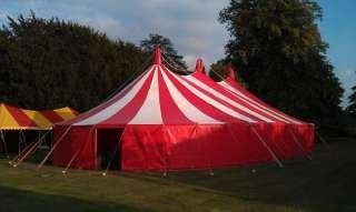 candy stripe tent, Bigtopmania, Launceston