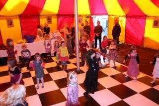 childrens circus party, Bigtopmania, Launceston