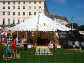 round white marquee tent high wall hire, Bigtopmania, Launceston