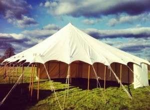 canvas marquee 9x9m up to 9x21m, Bigtopmania, Launceston
