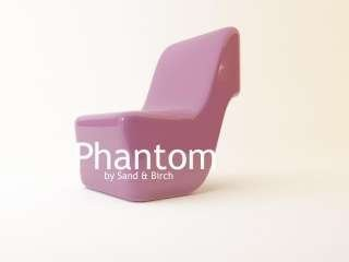 Phantom chair, Sand & Birch Design, Latina
