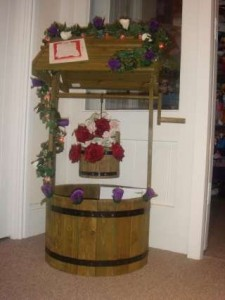 Wooden Wedding Wishing Well to Hire from £35 including floral dressing., Wedding Market , Peterborough
