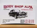 Body Shop Alpa & Towing, 1251 Industrial Blvd, Suite F,  Plano