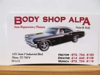 Body Shop Alpa & Towing,  Plano