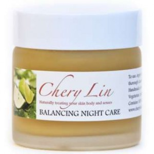 Balancing Night Care, Chery Lin Skin Therapy, Tetbury