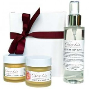 Nourishing Rose and Lavender skin care gift set, Chery Lin Skin Therapy, Tetbury