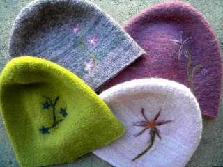 Felted Alpaca Beanies or Hats gifted at the Official Gift Lounge of the 46th Annual CMA Awards, with The Artisan Group, Rosy Toes Designs, Laura