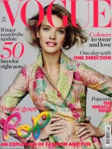 Appeared in Vogue UK November and December 2012, Rosy Toes Designs, Laura