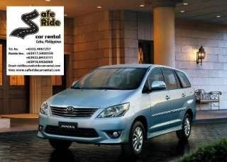 Minivan 2.5L Diesel Diesel 4-7 Passengers 2-3 Luggage Self Drive: P3,000.00/24 Hours w/ Driver: P1,500.00 1st 3 Hours Excess: P350.00/Hour, Safe Ride Car Rental, Mandaue City, Cebu