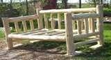 Log Day Bed, A Rustic Log Handcrafted Log Furniture, Lisle