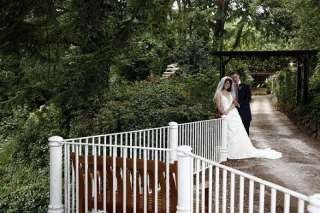 Hawkesyard Estate Staffordshire Wedding Venue - the bridal pathway, Hawkesyard Hall and Hawkesyard Golf Club,  Nr Lichfield 