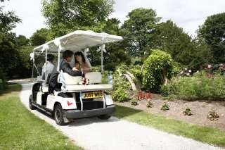 Hawkesyard Estate Staffordshire Wedding Golf Buggy, Hawkesyard Hall and Hawkesyard Golf Club,  Nr Lichfield 