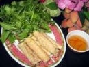 Fried Pork Spring Rolls Lettuce Wrap, Vietnamese Express Cafe, North Palm Beach