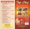 Menus & Prices, Top Chef, Epsom