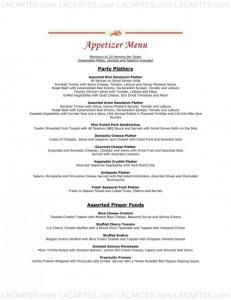 Menus & Prices, All Season's cafe & Catering, San Jose