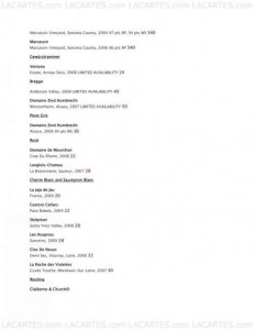 Menus & Prices, Valentien Restaurant & Wine Bar, Bakersfield