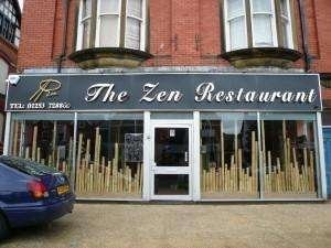 The Zen Restaurant in Wood Street, Lytham St Annes