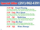 Pricelists of Carpet Cleaning Friendswood TX