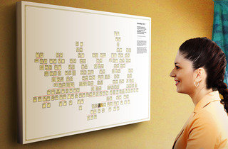 YOUR FAMILY TREE ON CANVAS AND READY TO HANG ON YOUR WALL