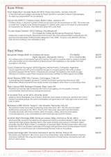 Pricelists of English's Seafood Restaurant & Oyster Bar