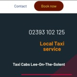 Taxi Cabs Lee-on-the-Solent