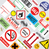 Stock Stickers & Labels