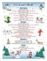 Pricelists of Piper Restaurant and Banquet Venue