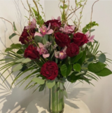 Be My Beloved<br /> Red Roses and Orchids The Flower Patch 1592 Bayview Ave
