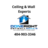 Done Right Drywall Repair & Painting EXPERTS, Norcross