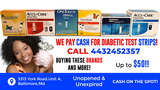 Sell Us Your Strips-Cash for Diabetic Test Strips 5313 York Rd Unit A
