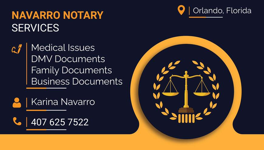 Pricelists of Navarro Notary Services N/A - Photo 2 of 2