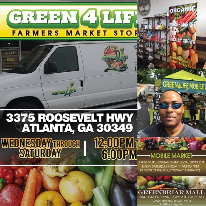Profile Photos of Green 4 Life Farmers Market 3375 Roosevelt Hwy Suite F - Photo 3 of 9