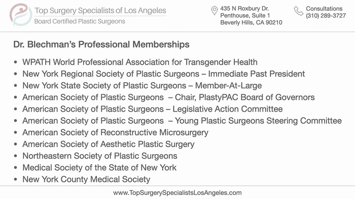 Top Surgery Specialists of Los Angeles - Professional Memberships and Credentials<br />  Profile Photos of Top Surgery Specialists of Los Angeles 435 N Roxbury Dr., Penthouse, Suite 1 - Photo 5 of 6