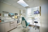 Dental chair with a view at Karimi Dental of Long Beach Karimi Dental of Long Beach 3840 Woodruff Ave #208