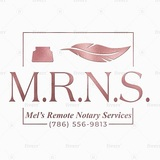 Mels Remote Notary Services 13818 SW 152 Street, #112