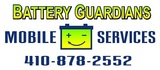 Battery Guardians Mobile Services, Catonsville