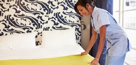 Maid Tidying Hotel Room And Making Bed New Album of Cleaning Services Toronto Pro 1075 Bay Street #102A - Photo 5 of 9
