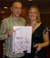 Welove our party caricature Crazy Caricatures St Mary Street