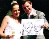 Another Happy Couple. Crazy Caricatures St Mary Street