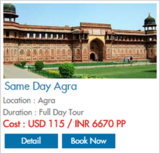 Pricelists of North India Excursions