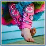 Leg Warmers Bluemist Kids Online only