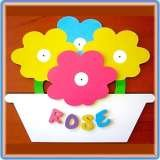 Name Plaques for Girls Bluemist Kids Online only