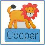 Hand Painted Name Plaques Bluemist Kids Online only