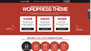Designs2html - A Best PSD to WordPress Theme Conversion Company