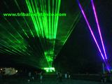 Extreme sky laser show rental design production services by Tribal Existance Productions Worldwide