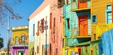 Bright colors of Caminito street in La Boca neighborhood of Buenos Aires, Argentina